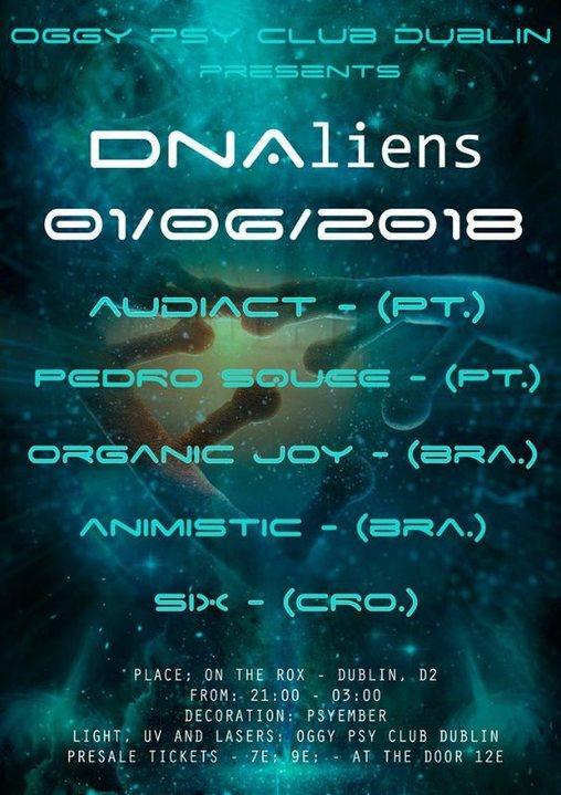 Party Flyer DNAliens 1 Jun '18, 21:00