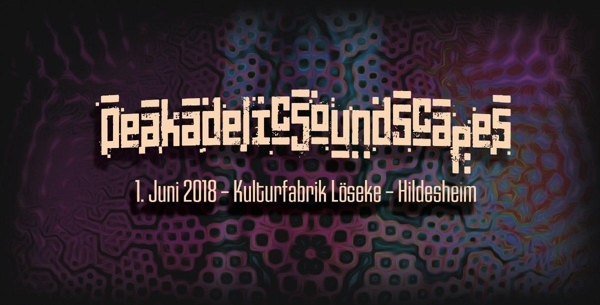 Party Flyer Peakadelic Soundscapes 1 Jun '18, 23:00