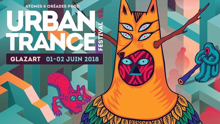 Party Flyer URBAN Trance Festival 2018 - Paris 1 Jun '18, 22:00