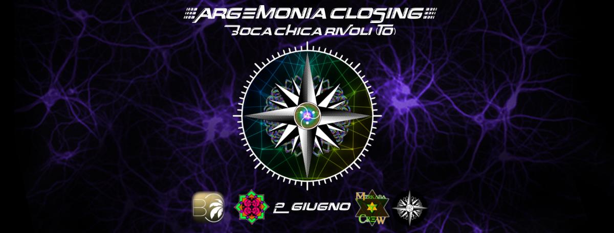 Party Flyer ◈ Argemonia - Closing Party ◈ 2 Jun '18, 23:00