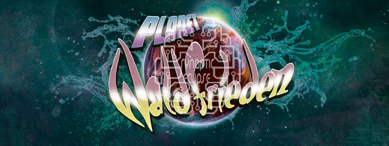 Party Flyer Planet Waldfrieden: Synaptic Eclipse Special 2 Jun '18, 21:30