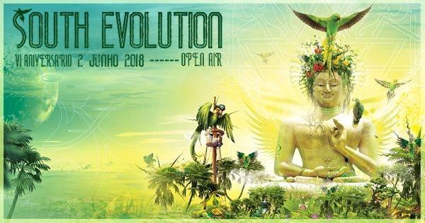 Party Flyer South Evolution VI Open Air 2 Jun '18, 22:00