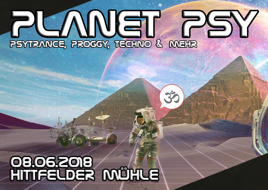 Party Flyer Planet Psy 8 Jun '18, 22:00