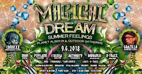 Party Flyer Magical Dream - summer feelings 9 Jun '18, 20:00