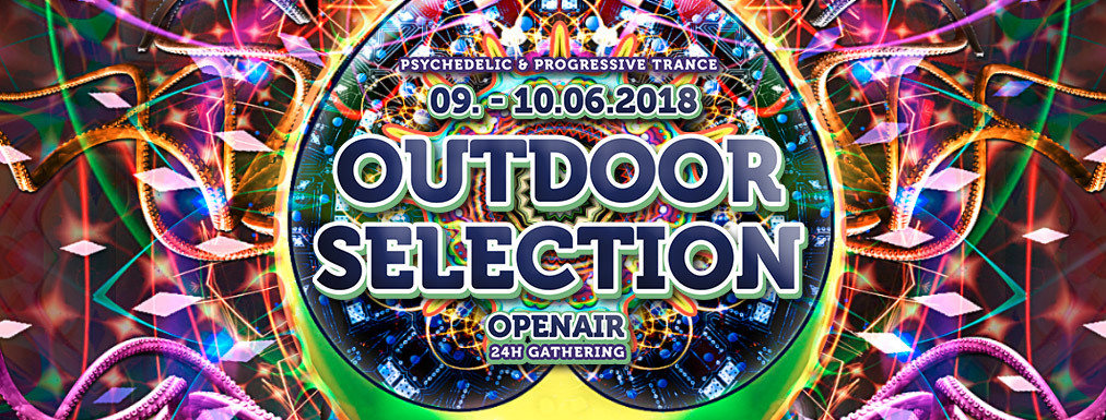 Party Flyer Outdoor Selection Openair 2018 9 Jun '18, 14:30