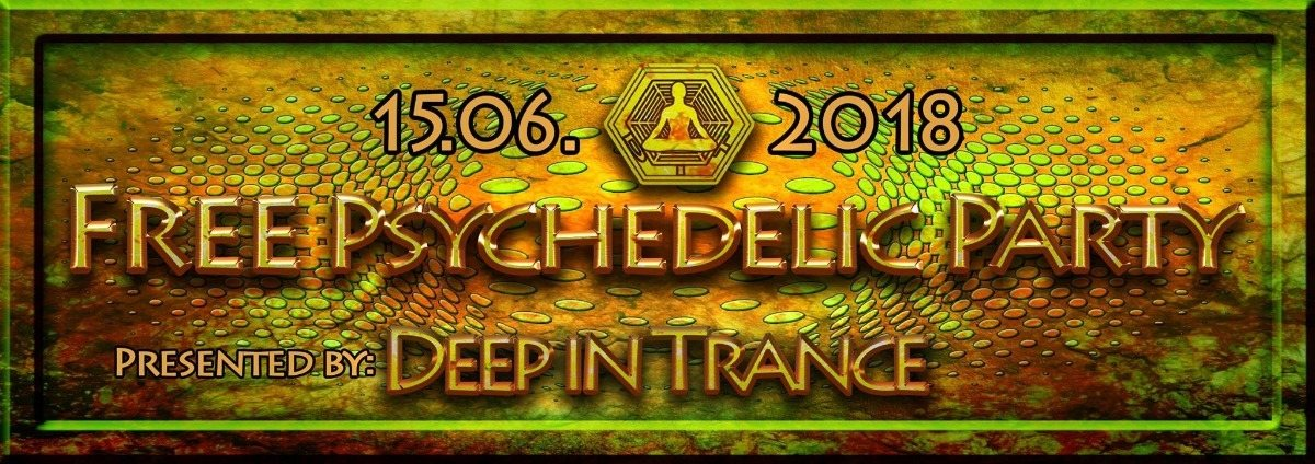 Party Flyer Free Psychedelic Party 15 Jun '18, 23:00