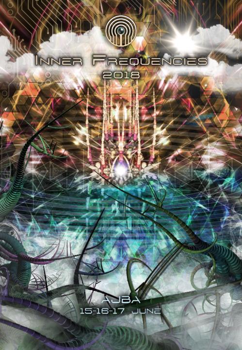 Party Flyer Inner Frequencies 2018 15 Jun '18, 12:00
