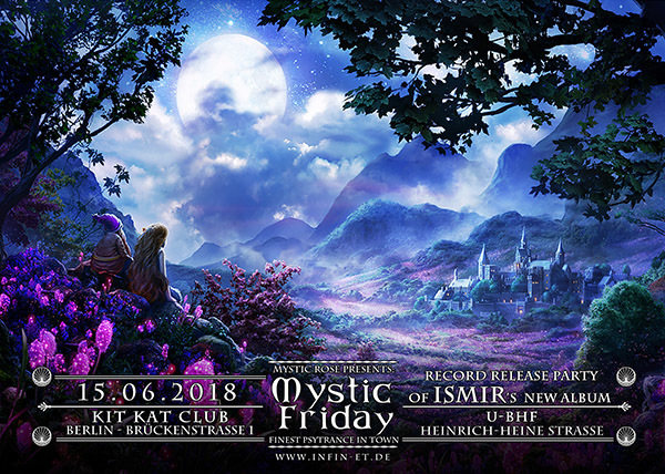 Party Flyer The Mystic Friday - Record Release Party from ISMIR's new Album 15 Jun '18, 23:00