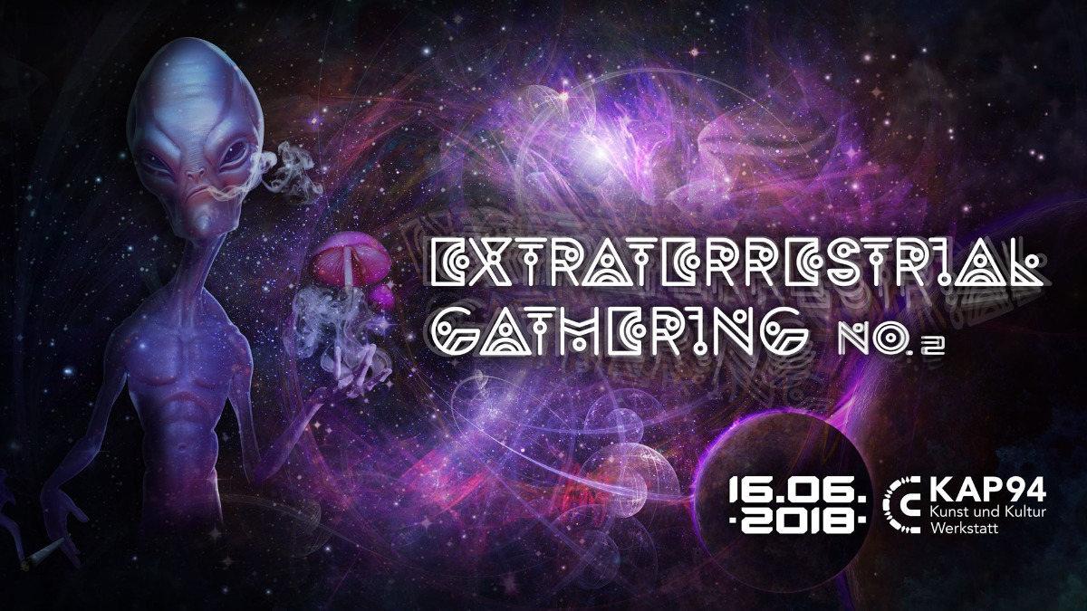 Party Flyer Extraterrestrial Gathering No.2 16 Jun '18, 20:30