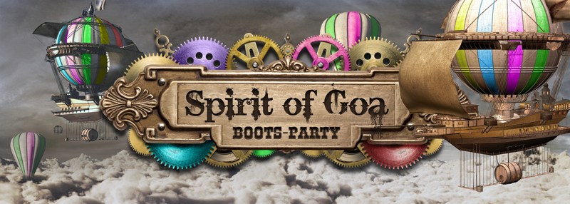 Party Flyer Spirit Of Goa Boatparty + Aftershow 16 Jun '18, 16:00