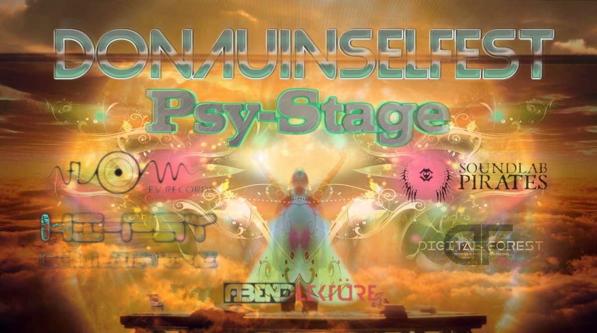 Party Flyer Psytrance Stage @ Donauinselfest 22 Jun '18, 14:00