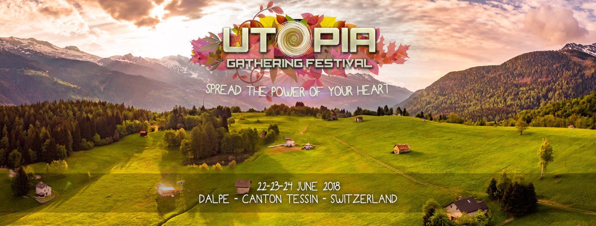 Party Flyer Utopia - Ghathering Festival (Spread the Power of your HeArt) 22 Jun '18, 14:00
