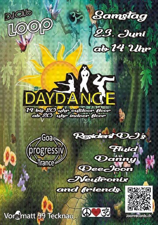 Party Flyer DayDance one 23 Jun '18, 14:00