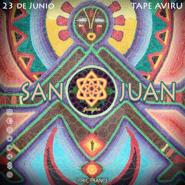 Party Flyer San Juan 23 Jun '18, 18:30