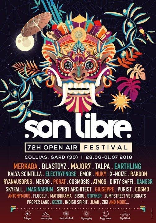 Party Flyer Son Libre Festival 2018 28 Jun '18, 17:00