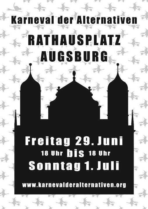 Party Flyer Karneval der Alternativen 29 Jun '18, 18:00