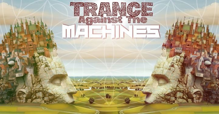 Party Flyer Trance Against The Maschines (Secret Lake Open Air) 29 Jun '18, 22:00