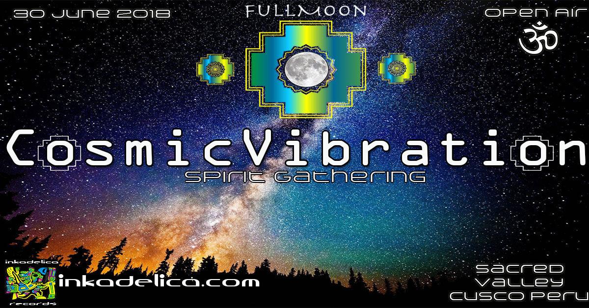 Party Flyer Cosmic Vibration 30 Jun '18, 14:00