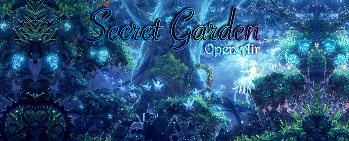 Party Flyer ๑ Secret Garden (Open Air) ๑ 30 Jun '18, 22:00