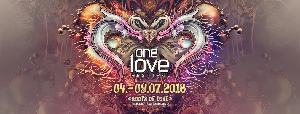 Party Flyer One Love Festival 2018: Roots Of Love 4 Jul '18, 01:00