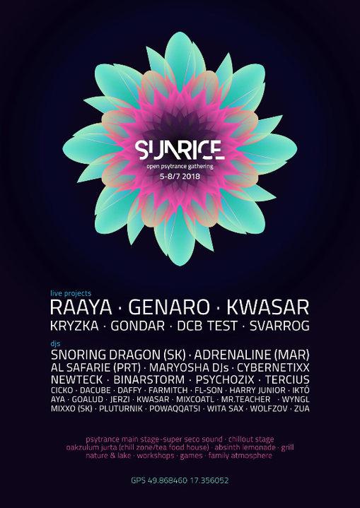 Party Flyer SunRice 2018 5 Jul '18, 20:00