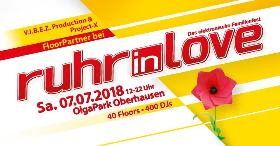 Party Flyer ★Goa Xperience★ Ruhr in Love After Show Party 7 Jul '18, 23:00