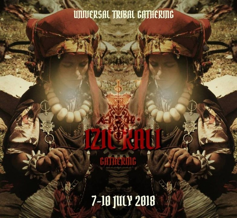 Party Flyer IZIL KALI Gathering* Ritual Music Festival - 1st Edition 7 Jul '18, 22:00