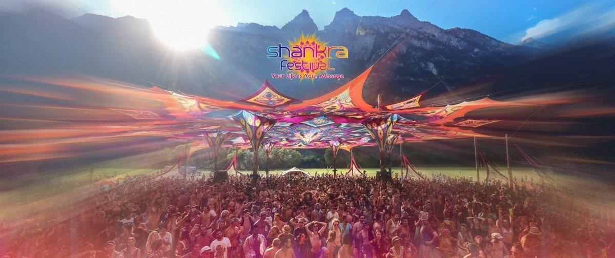 Party Flyer SHANKRA FESTIVAL 2018 10 Jul '18, 18:00