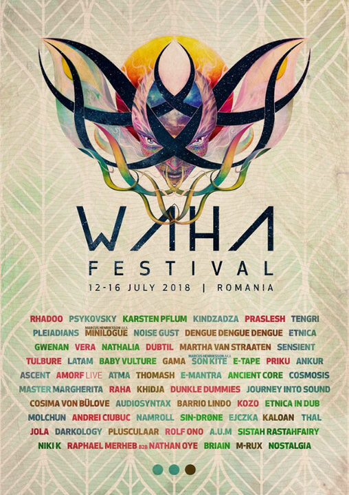 Party Flyer Waha Festival 2018 12 Jul '18, 20:00
