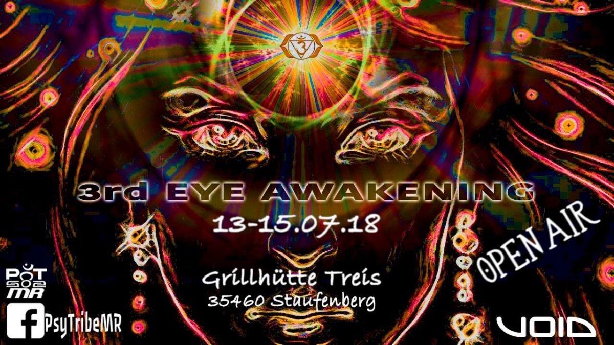 Party Flyer 3rd Eye Awakening (Open Air) 13 Jul '18, 22:00