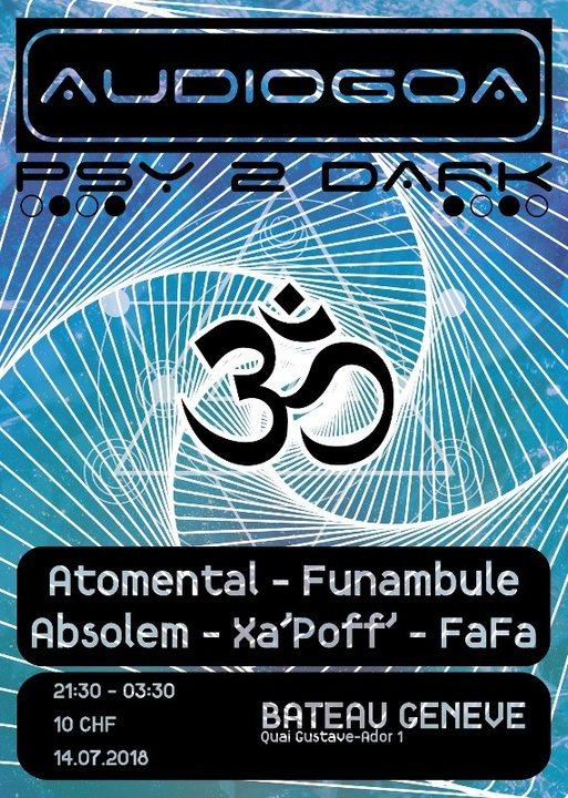 Party Flyer audioGOA 14 Jul '18, 21:00