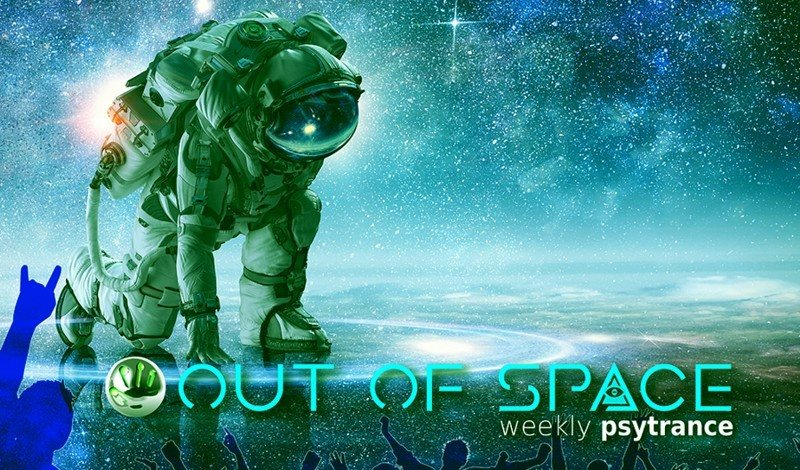 Party Flyer OUT of SPACE Psytrance Club 19 Jul '18, 22:00