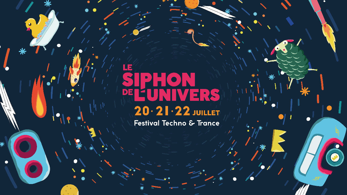 Party Flyer Le Siphon de l'Univers 20 Jul '18, 19:00