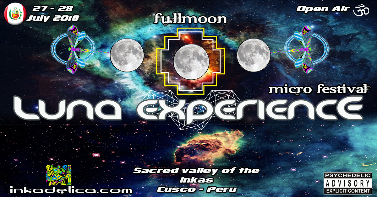 Party Flyer Luna Experience! 27 Jul '18, 14:00