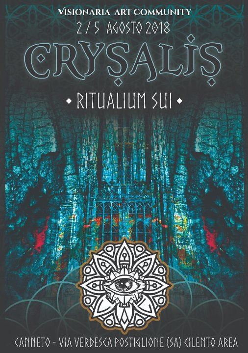 Party Flyer Crysalis: Ritualium Sui 1 Aug '18, 18:00