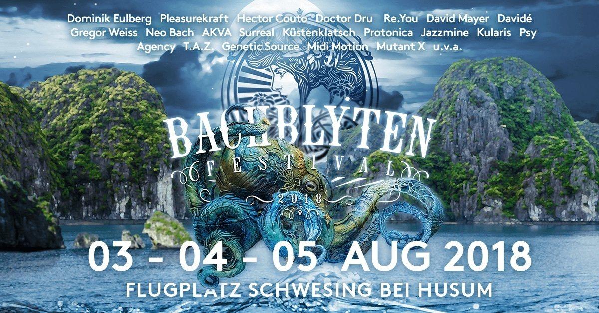 Bachblyten Festival 2018 3 Aug '18, 13:00