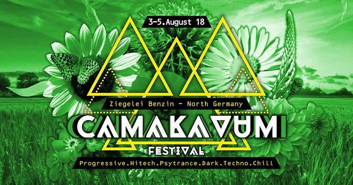 Party Flyer ·•● CaMaKaVuM Festival ●•· 3 Aug '18, 12:00