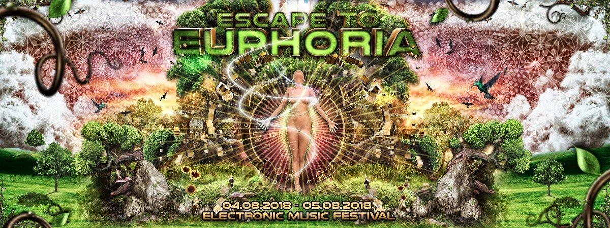 Party Flyer Escape to Euphoria 4 Aug '18, 15:00