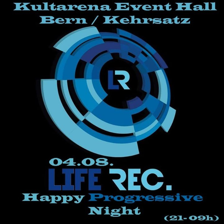Party Flyer Happy Progressive Night 4 Aug '18, 21:00