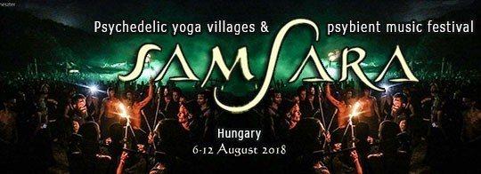 Party Flyer Samsara Festival 4th Europe Edition 6 Aug '18, 11:00