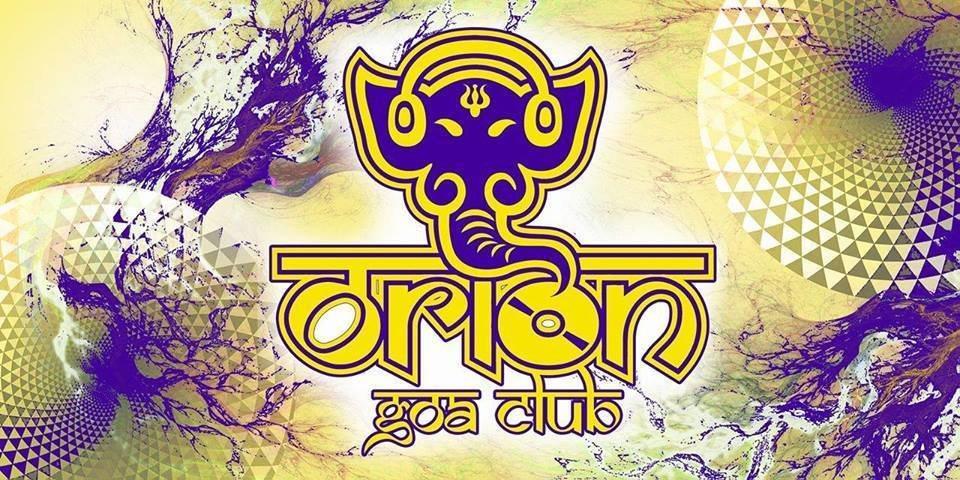 Party Flyer Orion Goa Club 7 Aug '18, 23:00