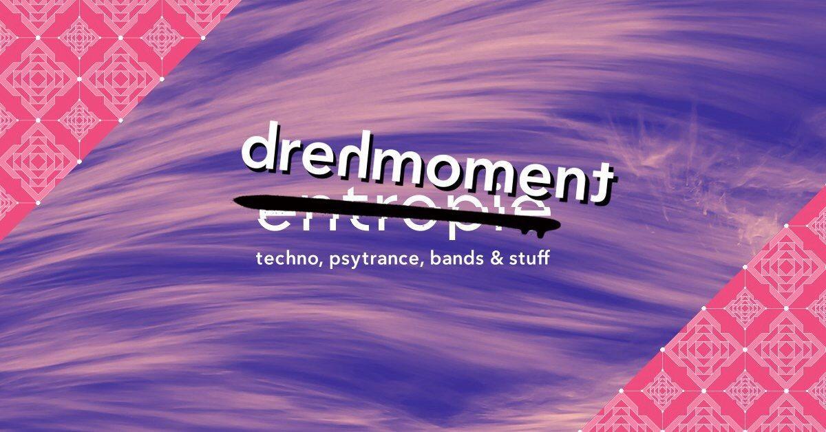Party Flyer Drehmoment: (no) entropie festival – back to Mensch Meier 10 Aug '18, 18:00