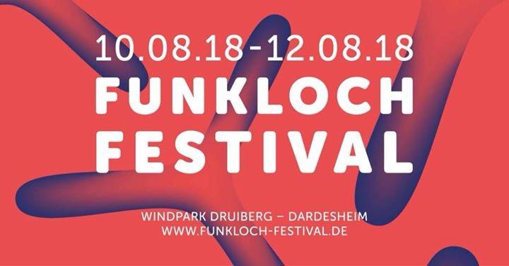 Party Flyer Funkloch-Festival 2018 10 Aug '18, 16:00
