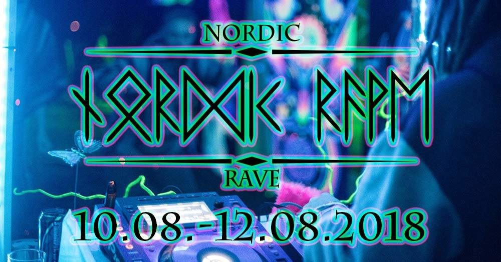 Party Flyer Nordic Rave A7.2 10 Aug '18, 18:00