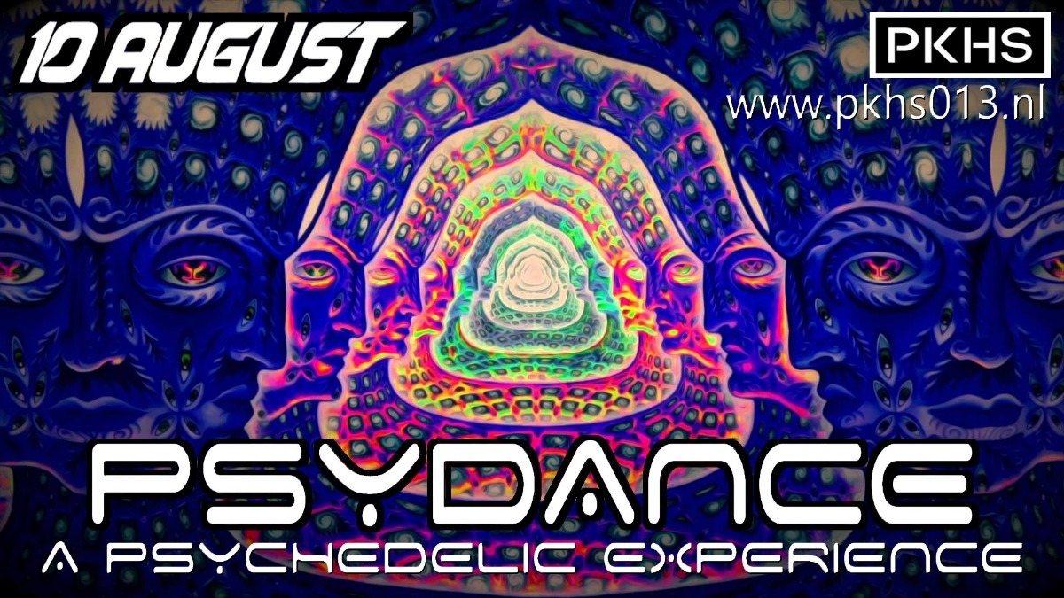 Party Flyer Psydance 10 Aug '18, 22:00
