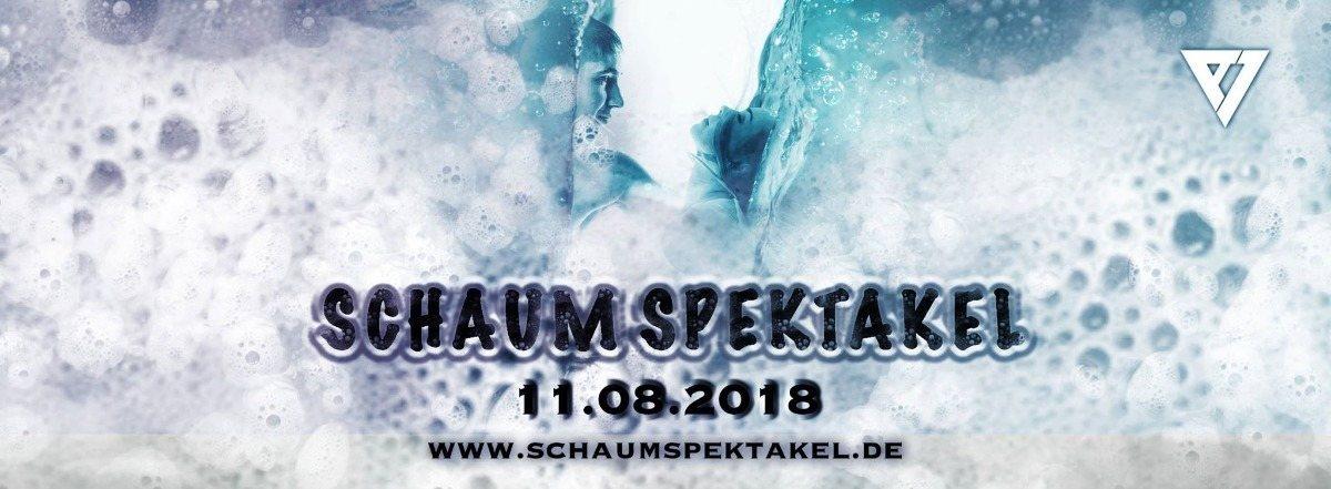 Party Flyer Schaum Spektakel 11 Aug '18, 23:00
