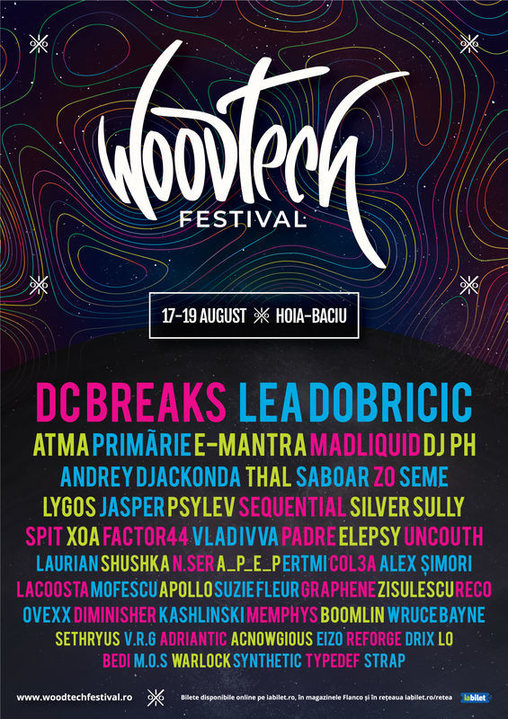 Party Flyer WoodTech Festival 17 Aug '18, 18:00