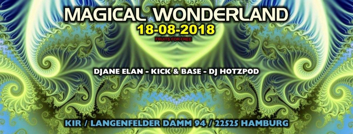 Party Flyer ॐ Magical Wonderland ॐ 18 Aug '18, 22:00