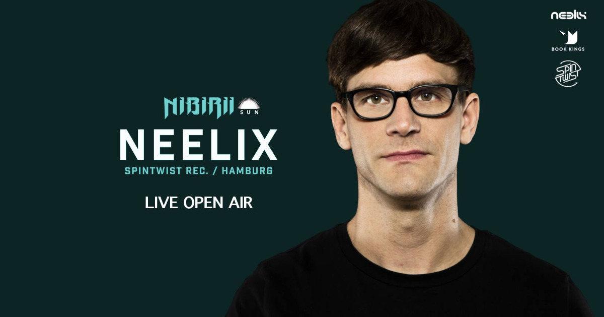 Party Flyer Neelix live: Nibirii Sun Open Air 18 Aug '18, 12:00