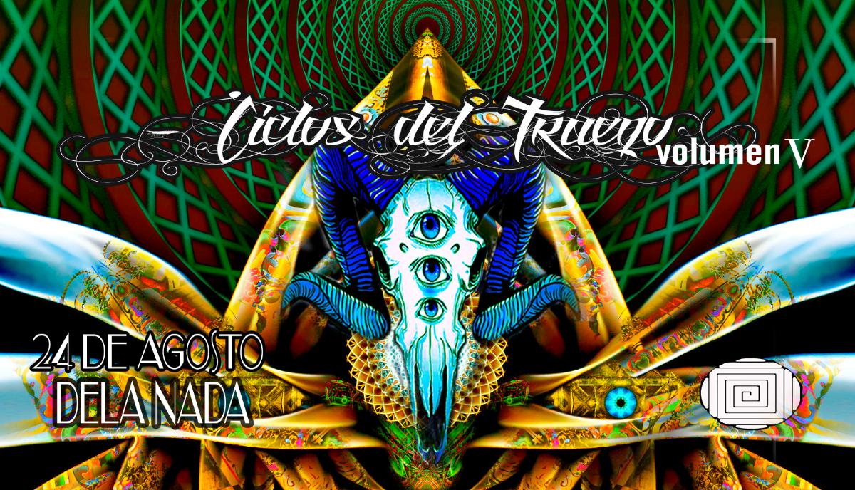 Party Flyer ciclos del trueno V 24 Aug '18, 22:00